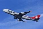Frankspotterさんが、アムステルダム・スキポール国際空港で撮影したカーゴルクス・イタリア 747-4R7F/SCDの航空フォト(写真)