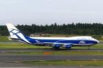 DVDさんが、成田国際空港で撮影したエアブリッジ・カーゴ・エアラインズ 747-406F/ER/SCDの航空フォト(写真)