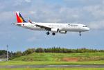 mojioさんが、成田国際空港で撮影したフィリピン航空 A321-271Nの航空フォト(飛行機 写真・画像)