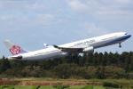 セブンさんが、成田国際空港で撮影したチャイナエアライン A330-302の航空フォト(写真)