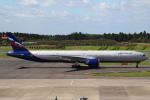 セブンさんが、成田国際空港で撮影したアエロフロート・ロシア航空 777-3M0/ERの航空フォト(飛行機 写真・画像)