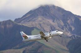 モモさんが、利尻空港で撮影した北海道エアシステム 340B/Plusの航空フォト(飛行機 写真・画像)