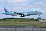 mojioさんが、成田国際空港で撮影した大韓航空 777-3B5/ERの航空フォト(飛行機 写真・画像)