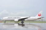 B747‐400さんが、羽田空港で撮影した日本航空 777-246の航空フォト(写真)