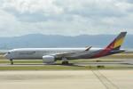 B747‐400さんが、関西国際空港で撮影したアシアナ航空 A350-941XWBの航空フォト(写真)