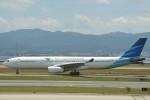B747‐400さんが、関西国際空港で撮影したガルーダ・インドネシア航空 A330-343Eの航空フォト(写真)
