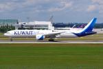 PASSENGERさんが、ミュンヘン・フランツヨーゼフシュトラウス空港で撮影したクウェート航空 777-369/ERの航空フォト(写真)