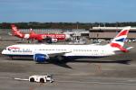 セブンさんが、成田国際空港で撮影したブリティッシュ・エアウェイズ 787-9の航空フォト(飛行機 写真・画像)