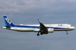 セブンさんが、成田国際空港で撮影した全日空 A321-272Nの航空フォト(写真)
