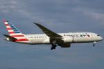 セブンさんが、成田国際空港で撮影したアメリカン航空 787-8 Dreamlinerの航空フォト(飛行機 写真・画像)