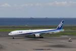 KAZFLYERさんが、羽田空港で撮影した全日空 777-381の航空フォト(飛行機 写真・画像)