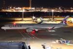 セブンさんが、羽田空港で撮影したカタール航空 A350-1041の航空フォト(飛行機 写真・画像)