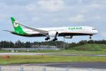 mojioさんが、成田国際空港で撮影したエバー航空 787-10の航空フォト(飛行機 写真・画像)
