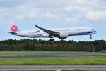 mojioさんが、成田国際空港で撮影したチャイナエアライン A350-941XWBの航空フォト(飛行機 写真・画像)
