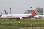 セブンさんが、成田国際空港で撮影したアシアナ航空 A330-323Xの航空フォト(飛行機 写真・画像)