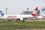セブンさんが、成田国際空港で撮影したオーストリア航空 777-2Z9/ERの航空フォト(飛行機 写真・画像)