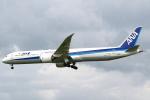 セブンさんが、成田国際空港で撮影した全日空 787-10の航空フォト(飛行機 写真・画像)
