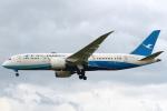 セブンさんが、成田国際空港で撮影した厦門航空 787-8 Dreamlinerの航空フォト(飛行機 写真・画像)