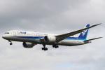 セブンさんが、成田国際空港で撮影した全日空 787-9の航空フォト(飛行機 写真・画像)