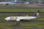 KAZFLYERさんが、羽田空港で撮影したスカイマーク 737-82Yの航空フォト(写真)