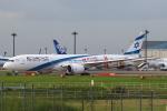 セブンさんが、成田国際空港で撮影したエル・アル航空 787-9の航空フォト(飛行機 写真・画像)