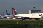 セブンさんが、成田国際空港で撮影したデルタ航空 A350-941XWBの航空フォト(飛行機 写真・画像)