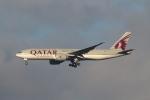 セブンさんが、成田国際空港で撮影したカタール航空カーゴ 777-FDZの航空フォト(飛行機 写真・画像)