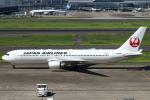 セブンさんが、羽田空港で撮影した日本航空 767-346/ERの航空フォト(飛行機 写真・画像)