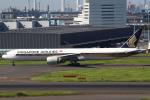 セブンさんが、羽田空港で撮影したシンガポール航空 777-312/ERの航空フォト(写真)