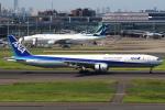 セブンさんが、羽田空港で撮影した全日空 777-381の航空フォト(写真)