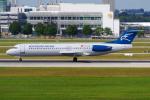 PASSENGERさんが、ミュンヘン・フランツヨーゼフシュトラウス空港で撮影したモンテネグロ航空 100の航空フォト(写真)