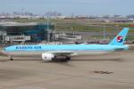 セブンさんが、羽田空港で撮影した大韓航空 777-3B5/ERの航空フォト(飛行機 写真・画像)