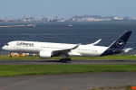セブンさんが、羽田空港で撮影したルフトハンザドイツ航空 A350-941XWBの航空フォト(飛行機 写真・画像)