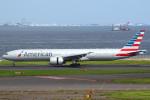 セブンさんが、羽田空港で撮影したアメリカン航空 777-323/ERの航空フォト(飛行機 写真・画像)