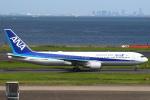 セブンさんが、羽田空港で撮影した全日空 767-381/ERの航空フォト(飛行機 写真・画像)