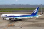 セブンさんが、羽田空港で撮影した全日空 777-281/ERの航空フォト(写真)