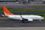 セブンさんが、羽田空港で撮影したハンワ・ケミカル 737-7HF BBJの航空フォト(飛行機 写真・画像)