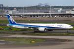 セブンさんが、羽田空港で撮影した全日空 777-381/ERの航空フォト(飛行機 写真・画像)