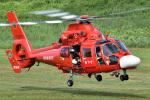 ミルハスさんが、角田滑空場で撮影した宮城県防災航空隊 AS365N3 Dauphin 2の航空フォト(写真)