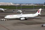 セブンさんが、羽田空港で撮影した中国東方航空 A330-343Xの航空フォト(飛行機 写真・画像)