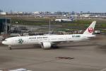 セブンさんが、羽田空港で撮影した日本航空 777-346/ERの航空フォト(飛行機 写真・画像)