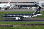セブンさんが、羽田空港で撮影したスターフライヤー A320-214の航空フォト(飛行機 写真・画像)