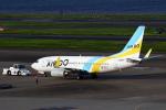 セブンさんが、羽田空港で撮影したAIR DO 737-781の航空フォト(写真)