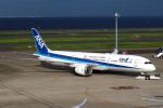 セブンさんが、羽田空港で撮影した全日空 787-9の航空フォト(写真)