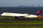 セブンさんが、羽田空港で撮影したデルタ航空 A350-941XWBの航空フォト(飛行機 写真・画像)