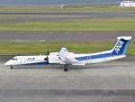 とびたさんが、中部国際空港で撮影したANAウイングス DHC-8-402Q Dash 8の航空フォト(飛行機 写真・画像)