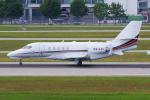 PASSENGERさんが、ミュンヘン・フランツヨーゼフシュトラウス空港で撮影したネットジェッツ・エイビエーション 680 Citation Sovereignの航空フォト(写真)