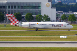 PASSENGERさんが、ミュンヘン・フランツヨーゼフシュトラウス空港で撮影したボロテア 717-2BLの航空フォト(飛行機 写真・画像)