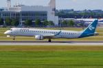 PASSENGERさんが、ミュンヘン・フランツヨーゼフシュトラウス空港で撮影したエア・ドロミティ ERJ-190-200 IGW (ERJ-195AR)の航空フォト(写真)