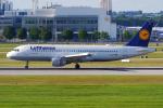 PASSENGERさんが、ミュンヘン・フランツヨーゼフシュトラウス空港で撮影したルフトハンザドイツ航空 A320-211の航空フォト(写真)